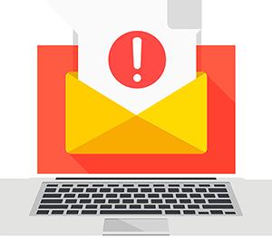 controllo contenuti e mail